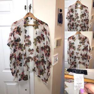 Deb plus size kimono